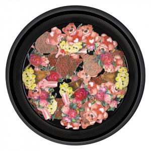Decoratiuni Unghii Nail Art Love Jar, LUXORISE
