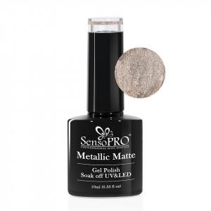 Oja Semipermanenta Metallic Matte SensoPRO #011 Sweet Amber, 10ml