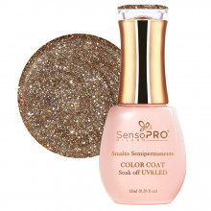 Oja Semipermanenta SensoPRO #043 Gold Galaxy, 15ml