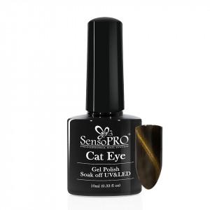 Oja Semipermanenta SensoPRO Cat Eye Gold Dust #034, 10ml