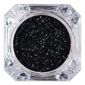 Sclipici Glitter Unghii Pulbere Black Unicorn #04, LUXORISE