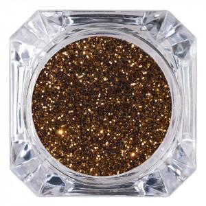 Sclipici Glitter Unghii Pulbere Cupru #18, LUXORISE