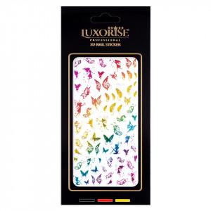 Sticker Unghii Butterfly DP2014, LUXORISE