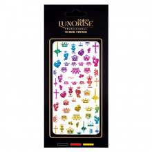 Sticker Unghii Lovely DP2024, LUXORISE