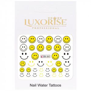 Tatuaj Unghii Emotions BN-841, LUXORISE