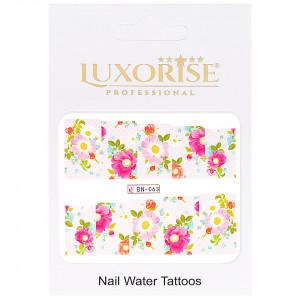 Tatuaj Unghii Nature BN-063, LUXORISE