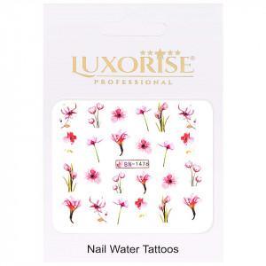 Tatuaj Unghii Nature BN-1476, LUXORISE
