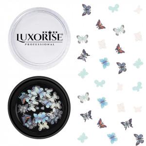 Decoratiuni Unghii Nail Art Butterfly View, LUXORISE