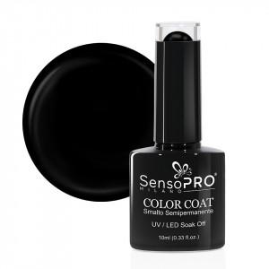 Oja Semipermanenta SensoPRO Milano 002 Black Onyx, 10ml