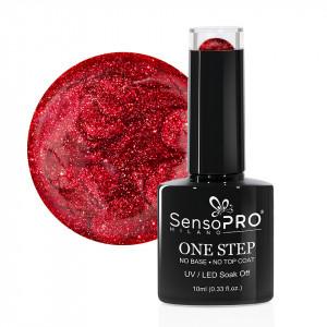 Oja Semipermanenta SensoPRO Milano One Step Tifanny Red #021, 10ml