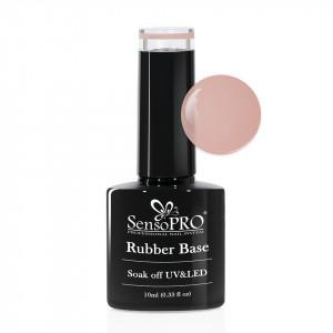 Rubber Base Gel SensoPRO Italia 10ml, #26-1 Total Nude