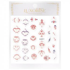 Sticker 3D Unghii Artistry A201, LUXORISE