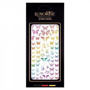 Sticker Unghii Butterfly DP2015, LUXORISE