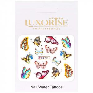 Tatuaj Unghii Butterfly BN-1655, LUXORISE