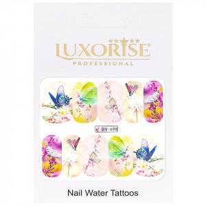 Tatuaj Unghii Butterfly BN-698, LUXORISE