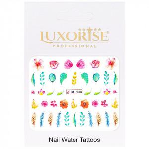Tatuaj unghii Nature BN-938, LUXORISE