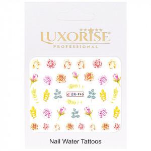 Tatuaj unghii Nature BN-946, LUXORISE