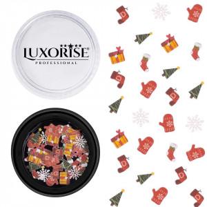 Decoratiune Unghii LUXORISE Christmas Delights #12