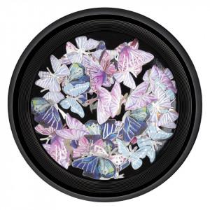Decoratiuni Unghii Nail Art Butterfly Glow, LUXORISE