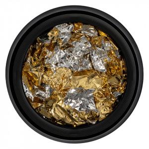 Foita Unghii Unique Gold & Silver #03, LUXORISE