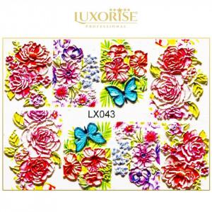 Tatuaj 3D Unghii LUXORISE LX043 - Artistry