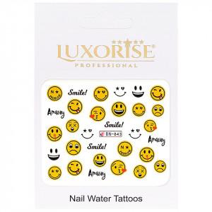 Tatuaj Unghii Emotions BN-843, LUXORISE