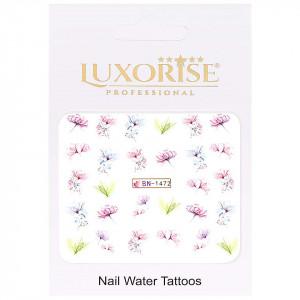 Tatuaj Unghii Nature BN-1472, LUXORISE