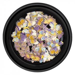 Decoratiuni Unghii Nail Art Butterfly Sunset, LUXORISE