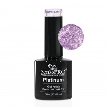Oja Semipermanenta Platinum SensoPRO Frozen Purple #07, 10ml