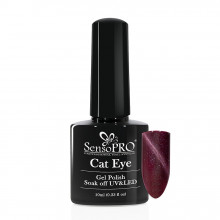 Oja Semipermanenta SensoPRO Cat Eye Precious Purple #037, 10ml