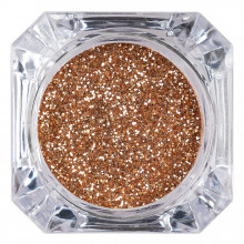Sclipici Glitter Unghii Pulbere Red Gold #41, LUXORISE