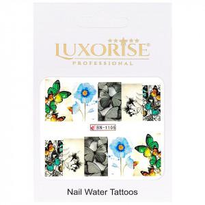 Tatuaj unghii Nature BN-1105, LUXORISE