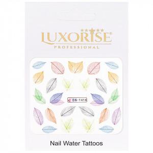 Tatuaj Unghii Nature BN-1416, LUXORISE