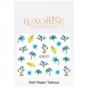 Tatuaj unghii Nature BN-871, LUXORISE