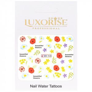 Tatuaj unghii Nature BN-945, LUXORISE