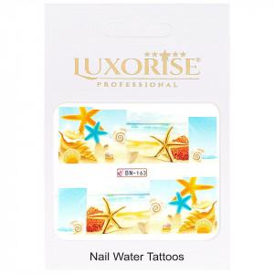 Tatuaj unghii Tropical BN-163, LUXORISE