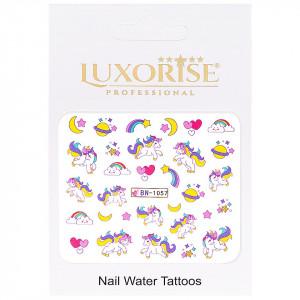 Tatuaj Unghii Unicorn BN-1057, LUXORISE