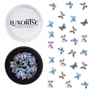 Decoratiuni Unghii Nail Art Butterfly Kaleidoscope, LUXORISE