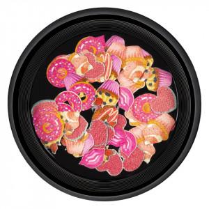 Decoratiuni Unghii Nail Art Love Cake, LUXORISE