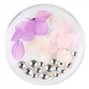 Flori Uscate Unghii cu cristale - Floral Fairytale #08 LUXORISE