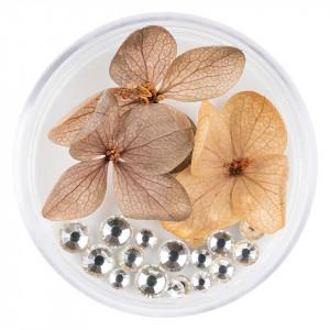 Flori Uscate Unghii cu cristale - Floral Fairytale #12 LUXORISE