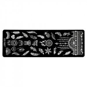 Matrita Metalica Stampila Unghii Dreamcatcher Style, LUXORISE