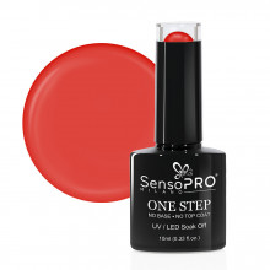 Oja Semipermanenta SensoPRO Milano One Step Famous Orange #038, 10ml