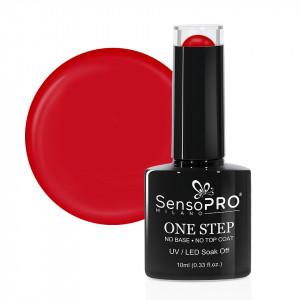 Oja Semipermanenta SensoPRO Milano One Step Russian Red #001, 10ml