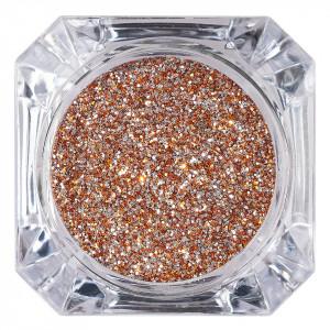 Sclipici Glitter Unghii Pulbere Bronz #20, LUXORISE