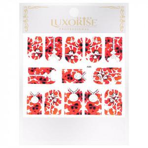 Sticker 3D Unghii Artistry A04, LUXORISE