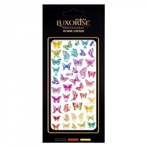 Sticker Unghii Butterfly DP2018, LUXORISE
