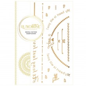 Tatuaj Temporar LUXORISE Gold Edition E003