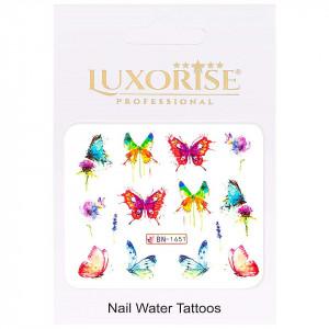 Tatuaj Unghii Butterfly BN-1651, LUXORISE