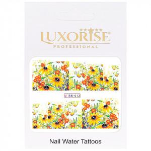 Tatuaj Unghii Nature BN-012, LUXORISE